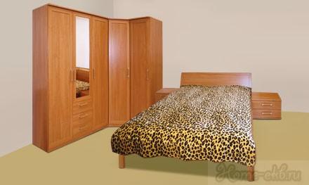 Спальный гарнитур «Fortuna»