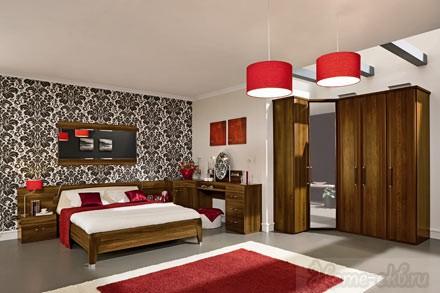 Спальня STYLE «Classic» (цвет орех Opera)