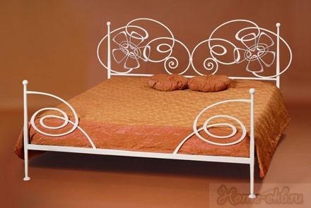 Кровать кованая «Жасмин»