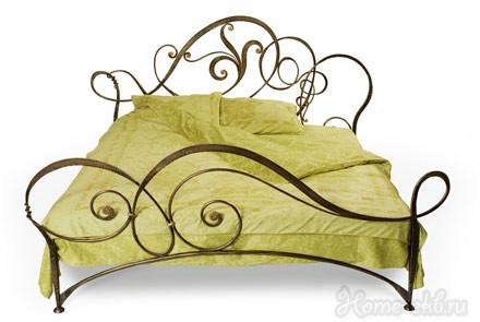 Кровать кованая «Лилия»