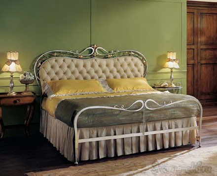 Кованая кровать  «Garden»