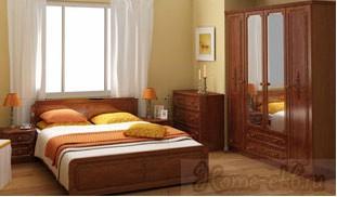 Спальный гарнитур «Гера»