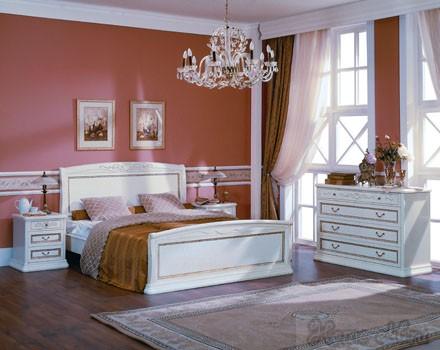Спальня «Луиджи» (шпон)